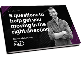 5 questions ebook cover nathaniel dunn coaching